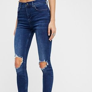 Free People Buster Skinny Jeans